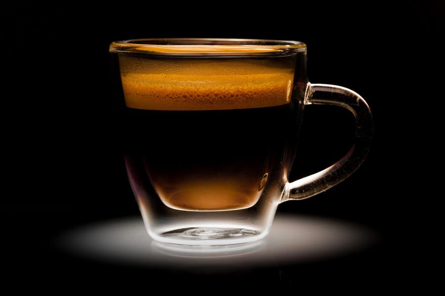 caffè con il ginseng e espresso italiano