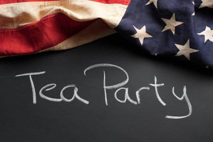 tea party bandiera