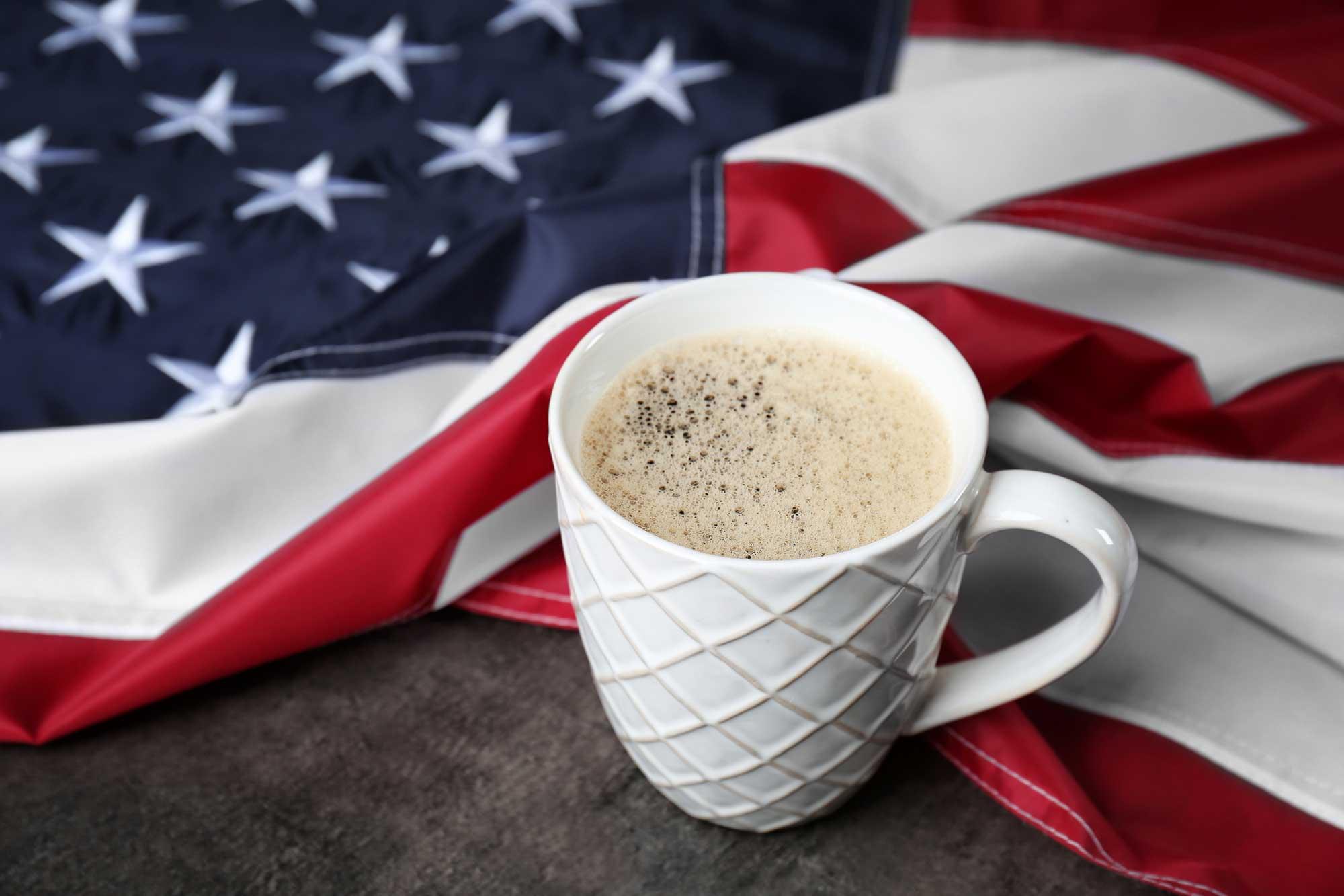 american coffee-н зурган илэрц