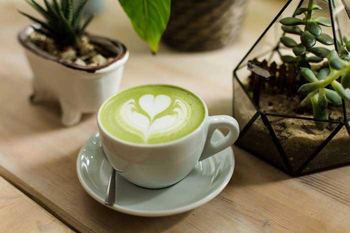 Matcha Latte cappuccino