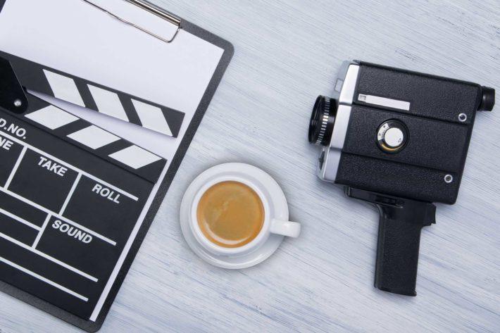Il caffe nei film
