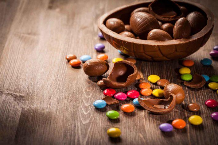 riciclare cioccolato uova di Pasqua