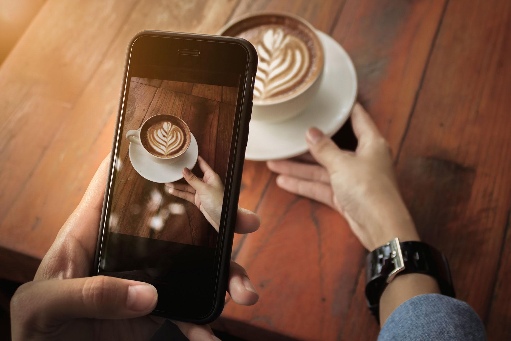 hashtag caffè