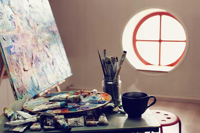 caffè nelle opere d'arte