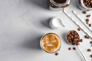 caffe in ghiaccio