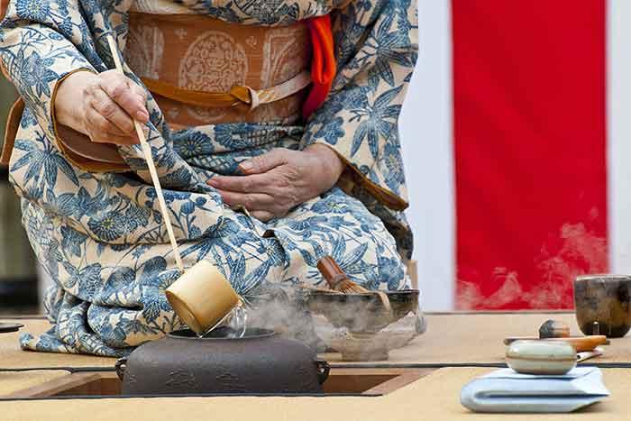 cerimonia del tè come funziona