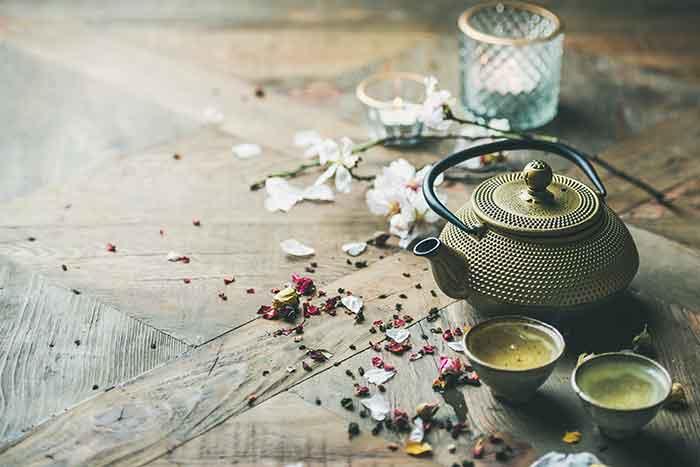 cerimonia del tè giapponese origine