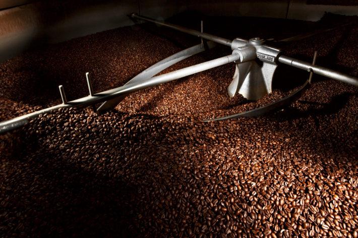 tostatura caffè