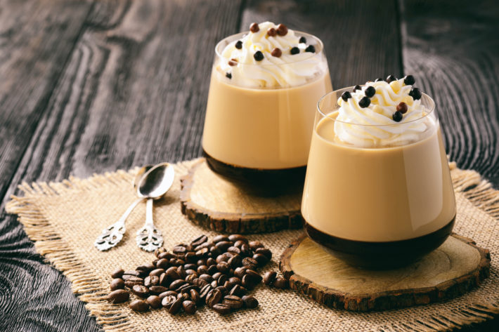 ricetta panna cotta al caffè